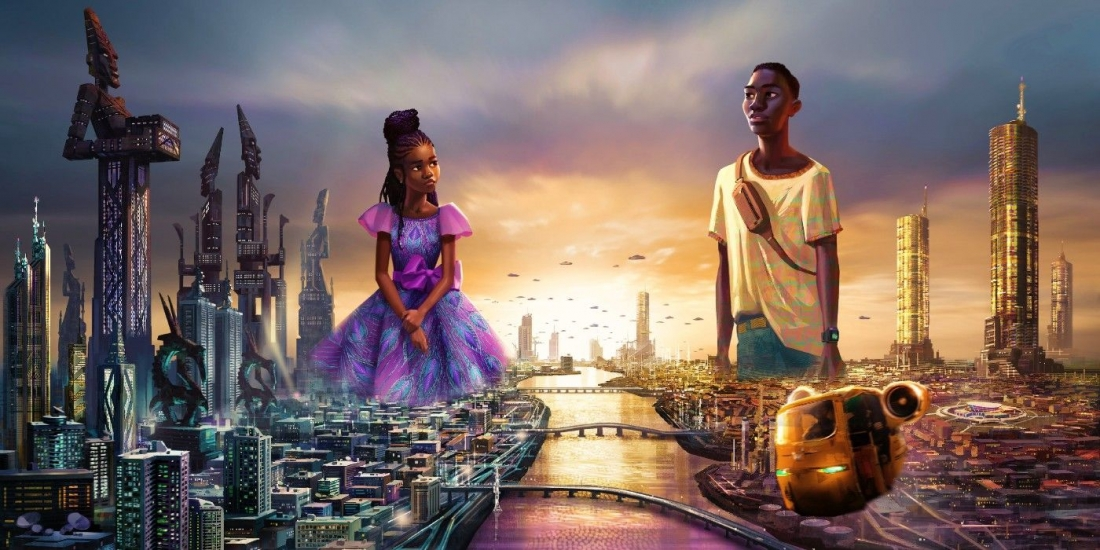 In a first-of-its-kind collaboration, Disney Animation and Pan-African entertainment company Kugali will team up to create an all-new, science fiction series coming to #DisneyPlus in 2022: Iwájú.